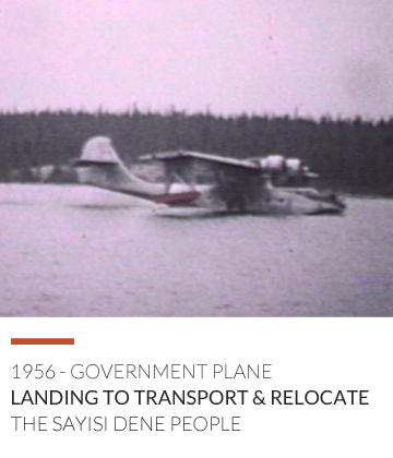Government Plane Landing 1956